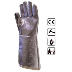 Mănuşi de protecţie cu exterior aluminizat