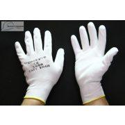 Manusi de protectie PU Alb