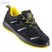 Urgent 206 S1, Pantofi de protectie cu bombeu metalic, din piele de caprioara