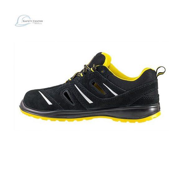 Urgent 206 S1 Pantofi de protectie cu bombeu metalic, din piele de caprioara