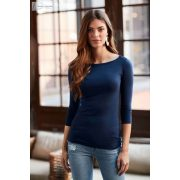 ANL2455 WOMEN'S STRETCH 3/4 SLEEVE TEE