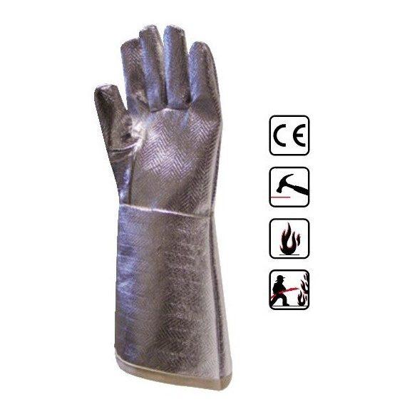 Euro Protection 59892 manusi de protectie textile cu exterior aluminizat termorezistent
