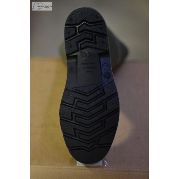 Dunlop Pricemastor negru Cizme de lucru PVC rezistenta la chimicale,uleiuri,sange,dezinfectanti