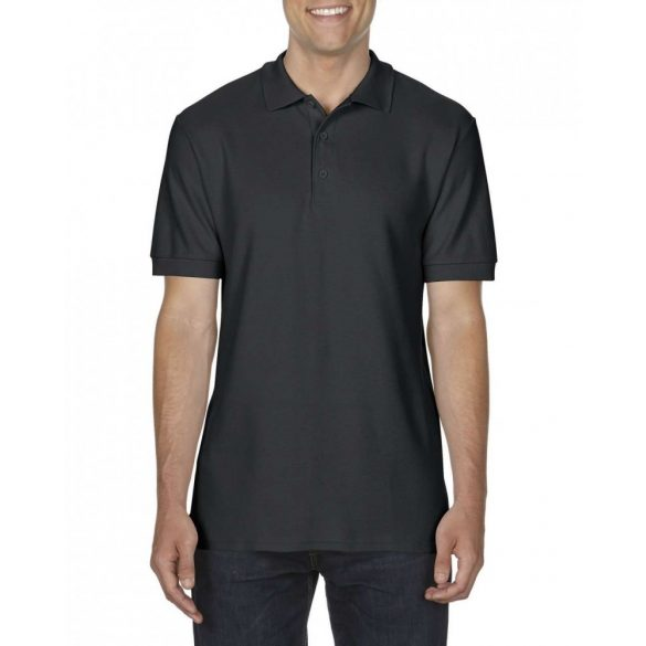 Tricou Gildan GI85800 PREMIUM COTTON® ADULT DOUBLE PIQUÉ POLO