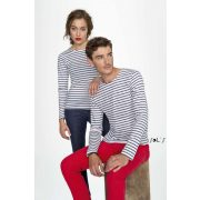 SOL'S SO01403 MARINE WOMEN LONG SLEEVE STRIPED T-SHIRT