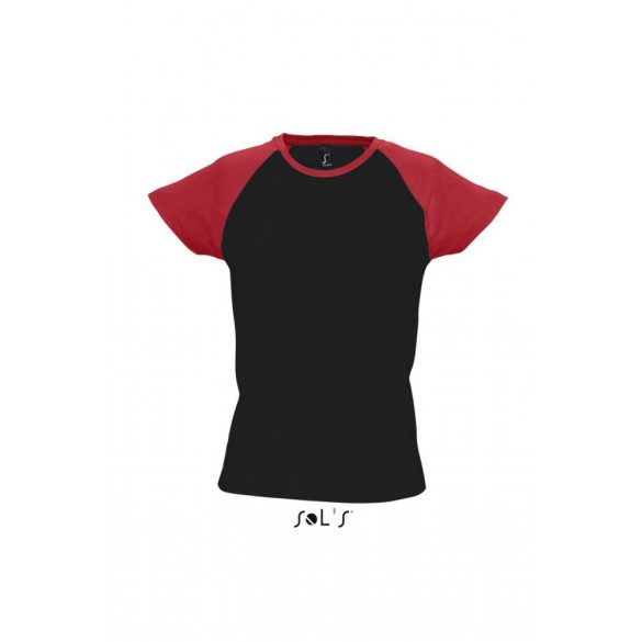 Sol's SO11195 MILKY WOMEN'S 2-COLOR RAGLAN SLEEVES T-SHIRT