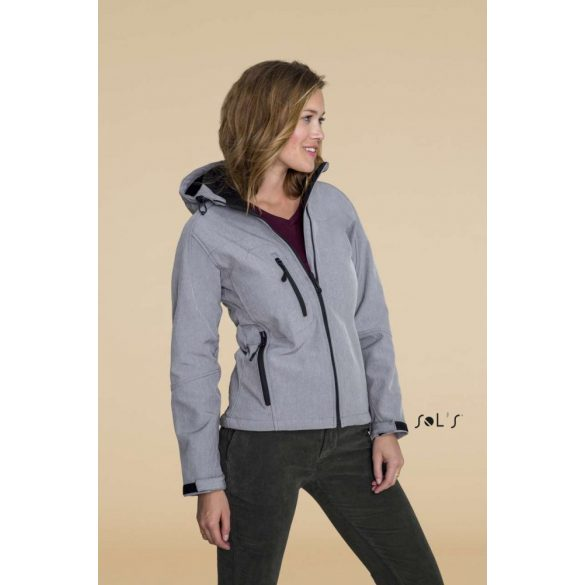 Sol's SO46802 REPLAY WOMEN - HOODED SOFTSHELL