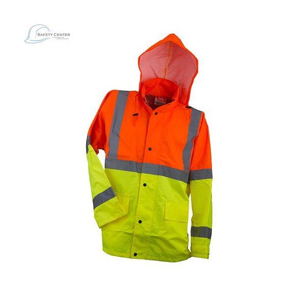 Jacheta reflectorizant Urgent cu doua culoare