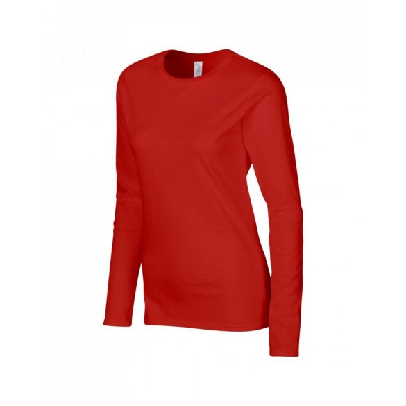 Tricou GIL64400 SOFTSTYLE® LADIES' LONG SLEEVE T-SHIRT