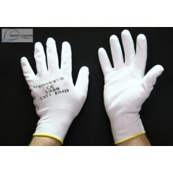 Manusi de protectie Urgent 1008 PU Alb
