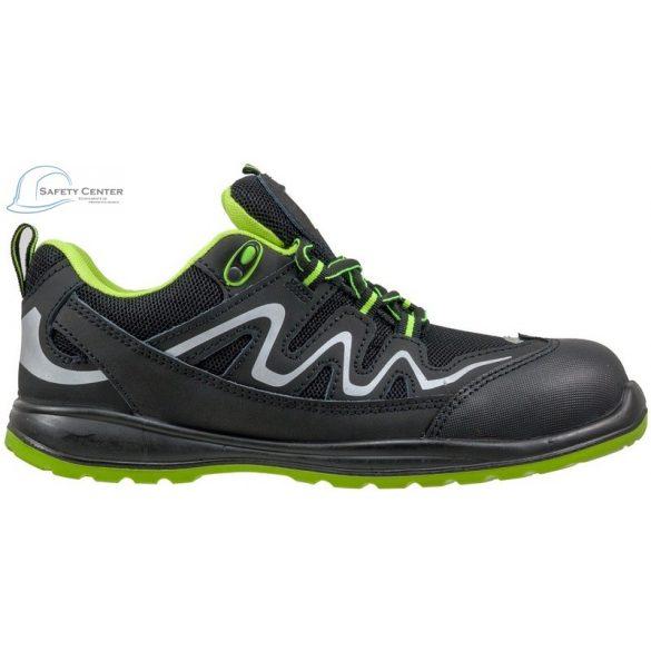 Urgent Lime 224 S1 Pantofi de protectie cu bombeu metalic talpa antiderapanta