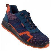Urgent Sprinter Orange 232 S1 Pantofi de protectie cu bombeu metalic,fata din material textile
