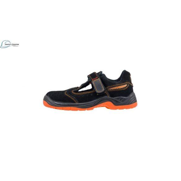 Urgent 304 SB Orange, Sandale de protectie cu bombeu metalic